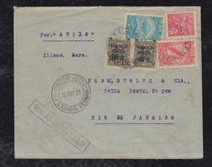 Brazil Brasil 1931 Airmail Cover RECIFE To RIO DE JANEIRO - Lettres & Documents