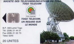 TARJETA TELEFONICA DE TOGO.(927) - Togo