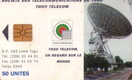 TARJETA TELEFONICA DE TOGO.(929) - Togo