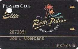 River Palms Casino - Laughlin, NV - ELITE Players Club Slot Card - Casino Cards