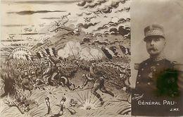 - Ref-653- Guerre 1914-18 - General Pau - Strasbourg 1914- Patritique - Patriotiques - Illustrateur - Illustrateurs - - Guerra 1939-45