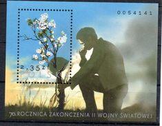 Polonia Peace S/S 2015 MNH - 1944-.... Republic