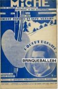 CAF CONC FILM***PARTITION MICHE ROBERT BURNIER SUZY VERNON DRANEM CAZAUX MONTEUX REALE 1932 MARGUENAT BLUMENTHAL - Film Music
