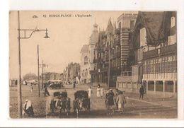 Berck Plage - L'esplanade - Berck