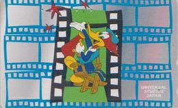 Rare Télécarte Japon / 110-016 - BD Comics - Oiseau PIC - WOODY WOODPECKER Bird * Universal Studios - Japan Phonecard - Comics