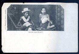 Cpa  De Thaïlande Siamese Type Bangkok      SEP17-32 - Thaïlande