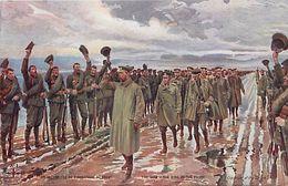 - Ref-642- Guerre 1914-18 - Illustrateur - En Guerre - Le Roi D Angleterre Au Front - The War - The King At The Front - - Weltkrieg 1939-45