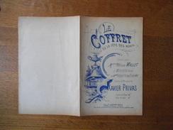 LE COFFRET OU LA FÊTE DES MORTS CREE PAR Mlle FELICIA MALLET POESIE ET MUSIQUE DE XAVIER PRIVAS - Noten & Partituren