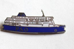 Broche Compagnie P&O Paquebot Ferry - Boats