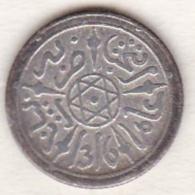Maroc . 1/2 Dirham (1/20 RIAL) AH 1316 Paris . Abdül Aziz I , En Argent - Maroc