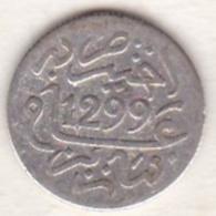 Maroc . 1/2 Dirham (1/20 RIAL) AH 1299 Paris. Hassan I , En Argent - Maroc