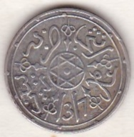 Maroc . 1 Dirham (1/10 RIAL) AH 1317 Paris . Abdül Aziz I , En Argent - Morocco