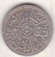 Maroc . 1 Dirham (1/10 RIAL) AH 1316 Paris . Abdül Aziz I , En Argent - Marruecos
