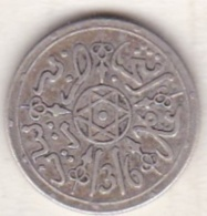 Maroc . 1 Dirham (1/10 RIAL) AH 1316 Paris . Abdül Aziz I , En Argent - Morocco