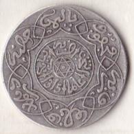 Maroc . 2 1/2 Dirhams (1/4 Rial) AH 1315 Paris . Abdül Aziz I , En Argent - Maroc