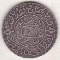 Maroc . 2 1/2 Dirhams (1/4 Rial) AH 1311 Paris . Hassan I , En Argent - Maroc