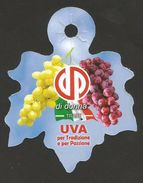# UVA DI DONNA - TABLE GRAPE Italy Fruit Tag Balise Etiqueta Anhänger Cartellino Uva Raisin Uvas Traube - Fruits & Vegetables