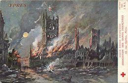 - Ref-636- Guerre 1914-18 - Belgique - Ypres - Croix Rouge Française - Illustrateur Fraipont - Imp Lapina - - Guerre 1939-45