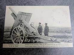 Militaria Artillerie Lourdes Pièces De 150  5 Régiment De Génie 25 Compagnie - Documents