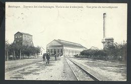 +++ CPA - BERINGEN - BEERINGEN - Travaux Des Charbonnages - Werken Der Koolmijmen - Vue Prise Du Raccordement  // - Beringen