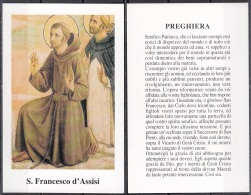 Santi : San Francesco D'Assisi - Images Religieuses