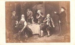Zeer Oude Foto (6 X 10 Cm)  Van Schilderij ( Photo Bulla Frères Paris ) La Degustation - Alte (vor 1900)