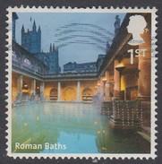 G B- 2012 Great Britain A-Z - Roman Baths 1st  SG3299 Used - 1952-.... (Elizabeth II)