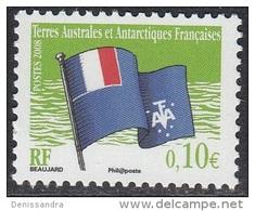 TAAF 2008 Yvert 497 Neuf ** Cote (2015) 0.20 Euro Drapeau Des TAAF - Terres Australes Et Antarctiques Françaises (TAAF)