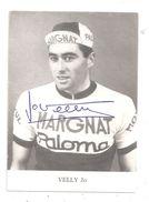 Cyclisme-Velly Jo-(C.1185) - Cyclisme
