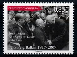 Andorra (French Adm.), Félix Peig Ballart, Photographer, 2017, MNH VF - Unused Stamps