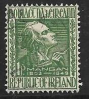 Ireland, Scott # 141 Used Mangan, 1949 - 1949-... Republic Of Ireland