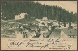Gruss Aus Metalka; Metalka - Sattel. Ansichtskarte Aus 1899 Mit 2 Kr.-Marke Und Stempel Cajnica (nicht Allgemein). - Bosnia Y Herzegovina