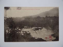 VIÊT-NAM INDOCHINE LANG-BIAN Dà-Lat Les Chutes De Lien-Khanh Carte Non écrite - Vietnam