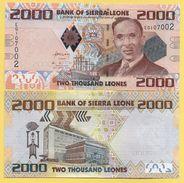 Sierra Leone 2000 Leones P-31 2010 UNC - Sierra Leone