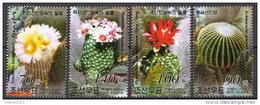 North Korea CTO Cactusses Set - Cactusses