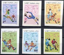 Soccer Football Vietnam #1248/53B Imperf 1982 World Cup Spain MNH ** - World Cup