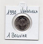 Venezuela - 1990 - 1 Bolivar - Vedi Foto - (MW476) - Venezuela