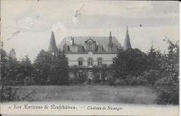 BIOURGE ..-- Le Château .  Vers Château De La Cour Des Mortiers à MONNIERES . Voir Verso . - Bertrix