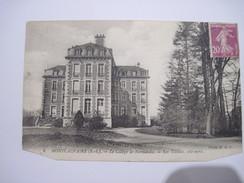 CPA  MONTCAUVAIRE Le College De Normandie Les Tilleuls, Coté Nord T.B.E Coupée Bas De Chaque Coté - France
