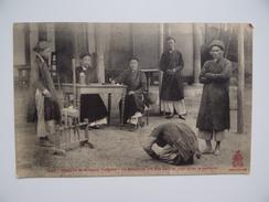VIËT-NAM TONKIN INDOCHINE Tribunal Indigène & Baie D'Along Lot De 2 Cartes Postales - Viêt-Nam