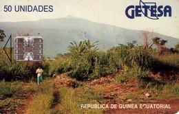 TARJETA TELEFONICA DE GUINEA ECUATORIAL. (445) - Equatorial Guinea