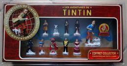 LES AVENTURES DE TINTIN - Coffret Collector - Feve - Strips