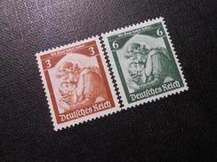 D.R.Mi 565+566 - 3/6Pf**/MNH - 1935 - Mi 8,00 € - Germany