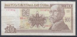 2015-BK-33 CUBA 10$ 2015 MAXIMO GOMEZ REPLACEMENT DZ REEMPLAZO - Cuba