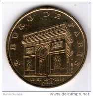 2 Euro De Paris 13 Et 14-7-1996 : Arc De Triomphe : Brigade De Sapeurs-Pompiers : Monnaie De Paris - Euros Of The Cities
