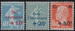 France   .   Yvert       .     246/248        .        **        .       Neuf SANS  Charniere - France