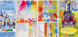 Calendarietto - Mini Plan - Jhr Platz 1985-1986 - Formato Piccolo : 1981-90