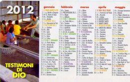 Calendarietto - Testimoni Di Dio 2012 - Calendari