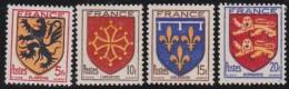 France   .   Yvert       .     602/605      .        **        .       Neuf SANS  Charniere - France