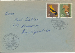 Germany Cover With Special Postmark And BIRD Stamps 19-9-1963 - [7] République Fédérale